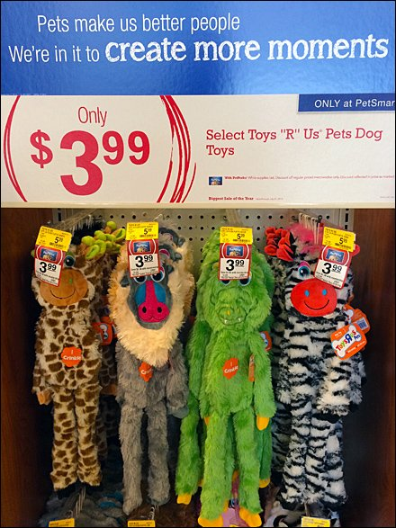 Pet Plush Toy Hook Overlay