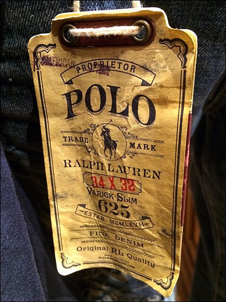 Polo Ralph Lauren Antique Tag Main