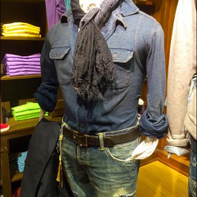 Polo Braided Scarf Tie for Men