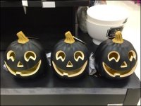 Pumpkin Al Jolson Blackface