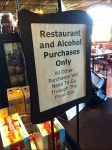 Restaurant Alcohol Freeform Sign Overall