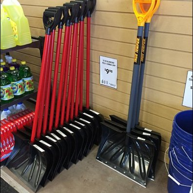 Snow Shovel Early Season Specials