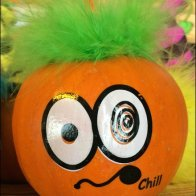 Troll Doll Hairy Pumpkins Aux