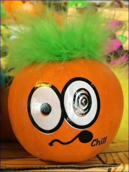 Troll Doll Hairy Pumpkins Aux