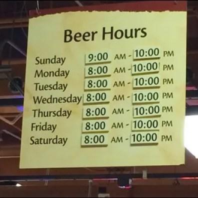 Wegman's Beer Hours 3