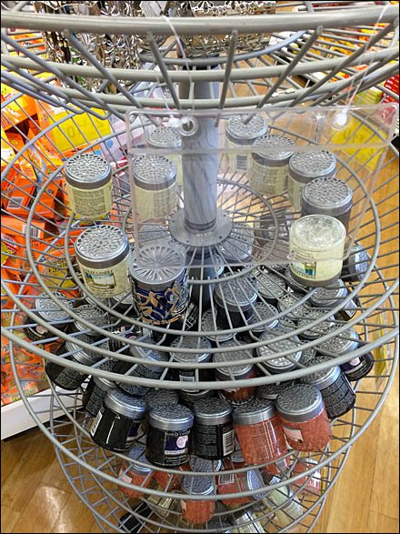 Wire Tray Circular Spinner