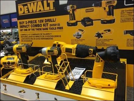 DeWalt C-Channel Tool Tray 1
