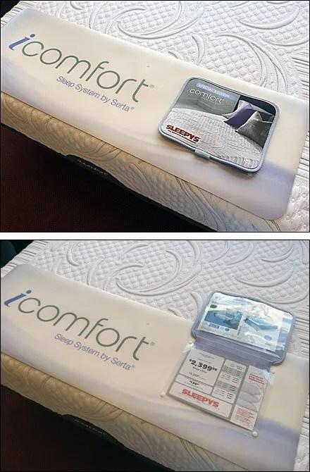 Sleepy's Flip-Front Footer Sign For Mattress Sales ...