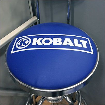 Kobalt Branded Take-A-Seat Try-Me Square