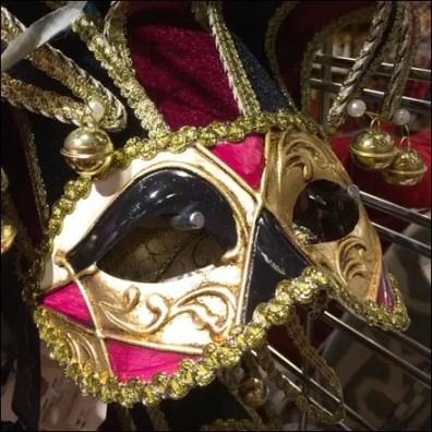 Masquerade Ball Masks Slatwall Hooked 5