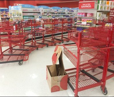Midnight Shopping Run Cart Circle 1