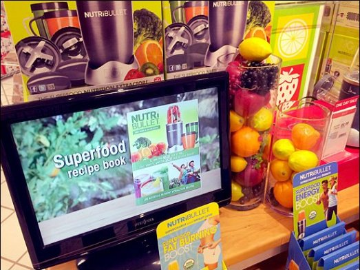NutriBullet Food Props and TV Spots Main