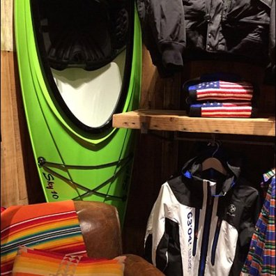 Ralph Lauren Kayak-in-a-Corner Visual Merchandising