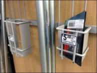 Scraper Station Utility Hook Literature Holder 3