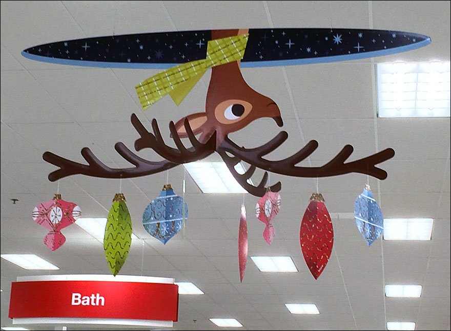 Target Reindeer Through The Roof
