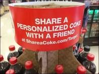 Coke Corrugated Carousel