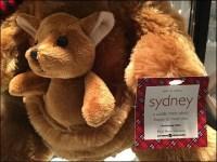 Littmans Plush Christmas Kangaroo