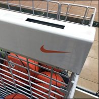 Nike Branded Open-Wire Bulk Bin For Balls