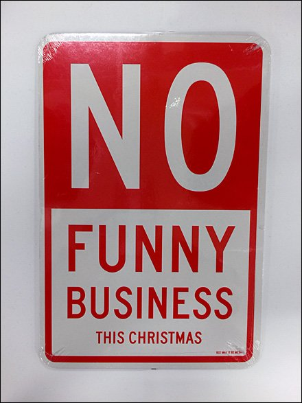 No Funny Business This Christmas Main