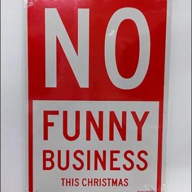 No Funny Business This Christmas Main