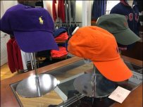 Polo Ralph Lauren Cap Stands Main