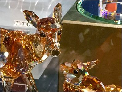 Swarovski Deer and Fawn 3