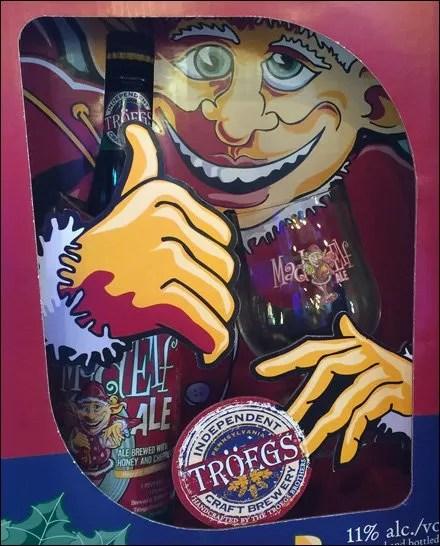 Troeges Bros Mad Elf Ale Closeup