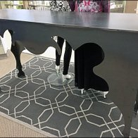 Curvacious Sheet Metal Table 2