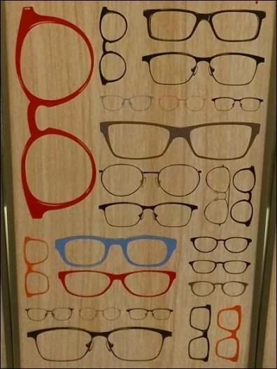 Eyeglass Pedestal Triplets