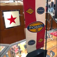 Fossil Branded Banner At Macys Main