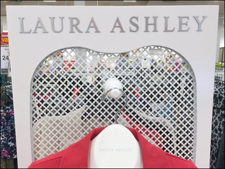 Laura Ashley Perforated Screen CloseUp