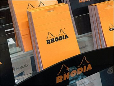 Rhodia Journal Display 3