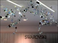 Swarovski Ceiling Crystals 1