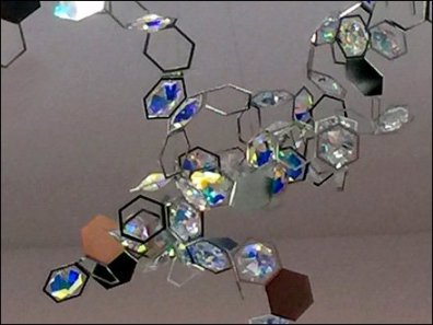 Swarovski Branded Crystal Store Ceiling