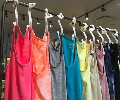 Tank Top S-Hooks Curtain