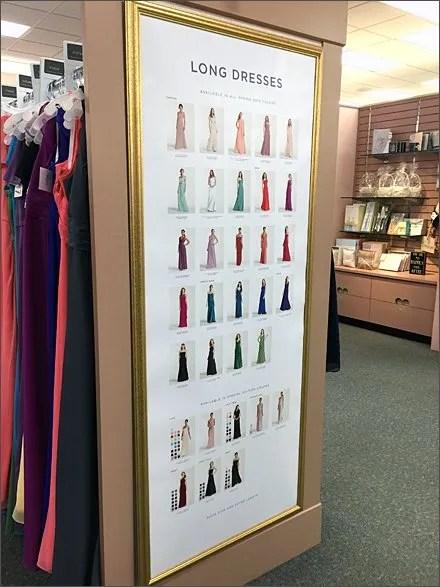 End-Aisle Long Dress Selection Main