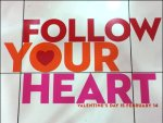 Follow Your Heart Floor Graphic Aux