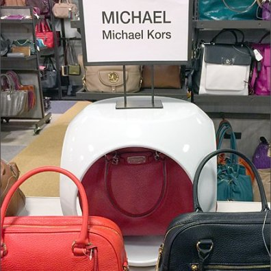 Michael Kors Peek-a-Boo Pod Front All