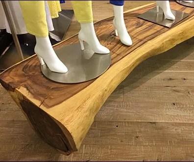Natural Log Plank Runway B