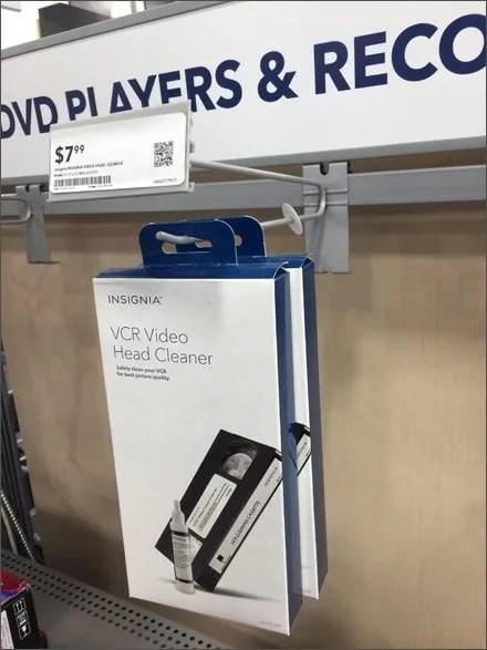 Vintage VCR Hybrid Scan Hook