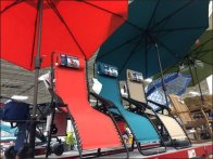 Beach Umbrella Warehouse Overhead 2