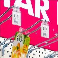 Euro Fixture™ Flip-Front Labels