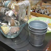Galvanized Jewelry Pail