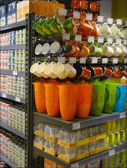 Grocery Glass & Mug Endcap Main
