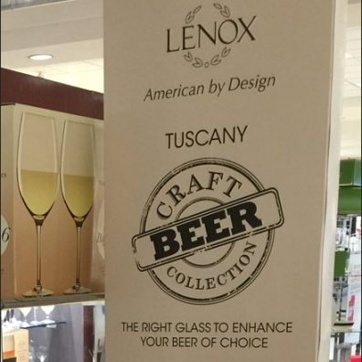 Lenox Craft Beer American by Design 3