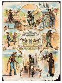 Levi's 162 Years of Branding Early Advertising Broadside