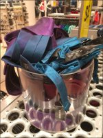 Express Necktie Ice Bucket Display