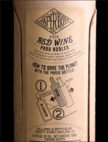Paper Wine Bottle 3