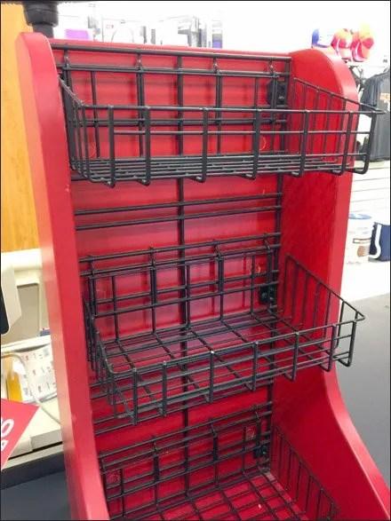 Open Wire Baskets for Slatwire