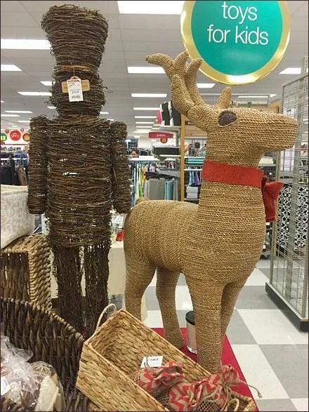 TJMaxx Christmas in Wicker